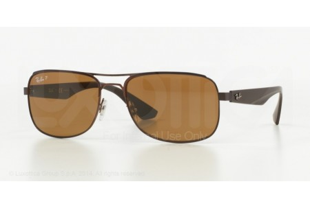Ray-Ban  0RB3524 012/83 MATTE BROWN POLARIZED