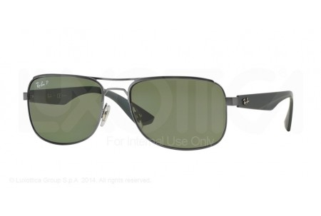 Ray-Ban  0RB3524 029/9A MATTE GUNMETAL POLARIZED