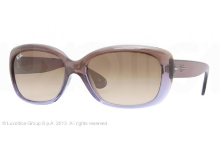 Ray-Ban JACKIE OHH 0RB4101 860/51 BROWN GRADIENT LILAC
