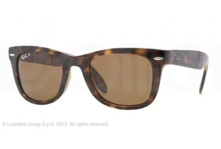 Ray-Ban FOLDING WAYFARER 0RB4105 710 LIGHT HAVANA