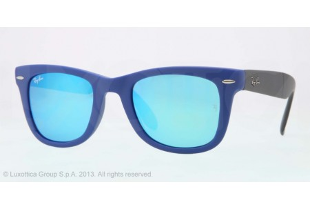 Ray-Ban FOLDING WAYFARER 0RB4105 602017 MATTE BLUE