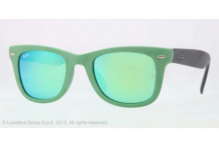 Ray-Ban FOLDING WAYFARER 0RB4105 602119 MATTE GREEN