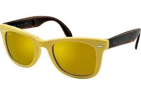 Ray-Ban FOLDING WAYFARER 0RB4105 605193 MATTE YELLOW