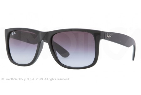 Ray-Ban JUSTIN 0RB4165 601/8G RUBBER BLACK