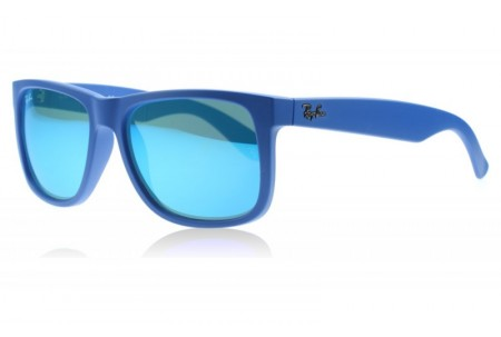 Ray-Ban JUSTIN 0RB4165 608855 RUBBER BLUE