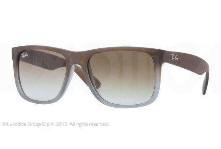 Ray-Ban JUSTIN 0RB4165 854/7Z RUBBER BROWN ON GREY
