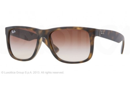 Ray-Ban JUSTIN 0RB4165 710/13 RUBBER LIGHT HAVANA