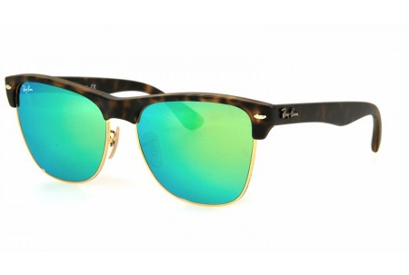 Ray-Ban CLUBMASTER OVERSIZED 0RB4175 609219 609219_MATTE HAVANA