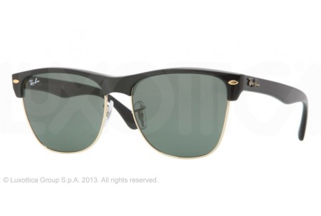 Ray-Ban CLUBMASTER OVERSIZED 0RB4175 877 DEMI SHINY BLACK/ARISTA