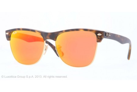 Ray-Ban CLUBMASTER OVERSIZED 0RB4175 609217 MATTE HAVANA