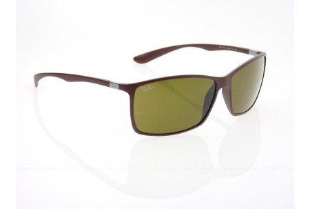 Ray-Ban LITEFORCE 0RB4179 6124T5 MATTE DARK BROWN POLARIZED