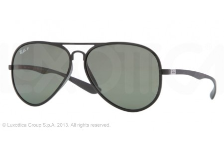 Ray-Ban AVIATOR LITEFORCE 0RB4180 601S9A MATTE BLACK POLARIZED