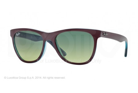 Ray-Ban  0RB4184 61143M TOP BORDO ON TRASPARENT OIL