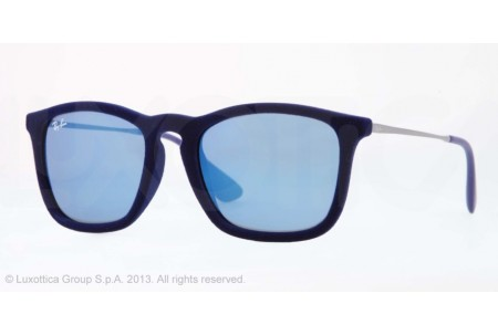 Ray-Ban CHRIS 0RB4187 608155 FLOCK BLUE