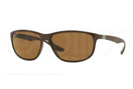 Ray-Ban  0RB4213 612483 DARK MATTE BROWN POLARIZED