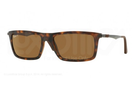 Ray-Ban  0RB4214 609283 MATTE HAVANA POLARIZED