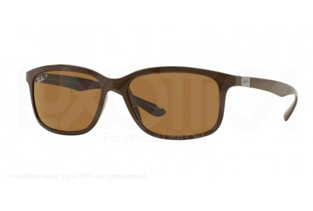 Ray-Ban  0RB4215 612783 DARK BROWN POLARIZED