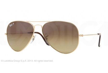 Ray-Ban AVIATOR TM TITANIUM 0RB8041 001/M2 ARISTA POLARIZED