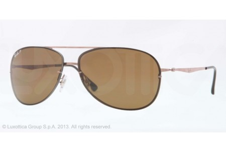 Ray-Ban RB8052 0RB8052 158/83 BROWN POLARIZED