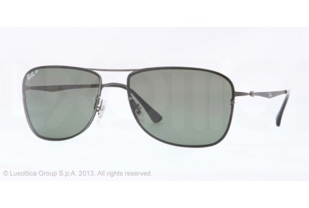 Ray-Ban RB8054 0RB8054 154/82 SANDBLAST GUNMETAL POLARIZED