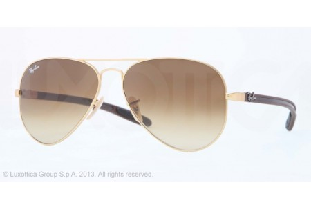 Ray-Ban AVIATOR TM CARBON FIBRE 0RB8307 112/85 MATTE GOLD