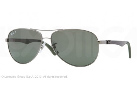 Ray-Ban CARBON FIBRE 0RB8313 004/N5 GUNMETAL POLARIZED