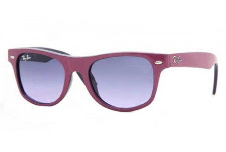 Ray-Ban Junior JUNIOR WAYFARER 0RJ9035S 147/90 FUCHSIA TOP ON METAL VIOLET