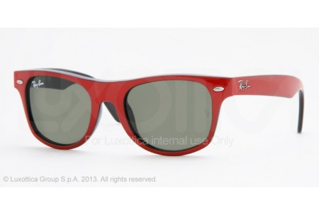 Ray-Ban Junior JUNIOR WAYFARER 0RJ9035S 162/71 TOP RED ON BLACK