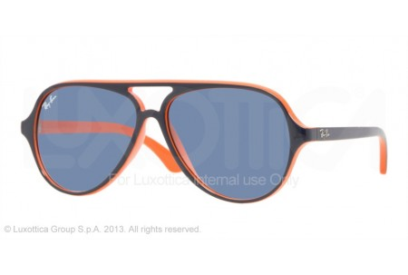 Ray-Ban Junior  0RJ9049S 178/7B TOP BLUE ON ORANGE