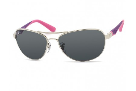 Ray-Ban Junior  0RJ9534S 212/87 SHINY SILVER