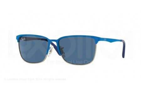 Ray-Ban Junior  0RJ9535S 244/80 TOP MATTE BLUE ON SILVER