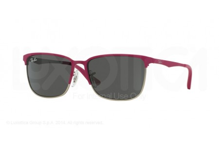 Ray-Ban Junior  0RJ9535S 247/87 TOP MATTE FUXIA ON SILVER
