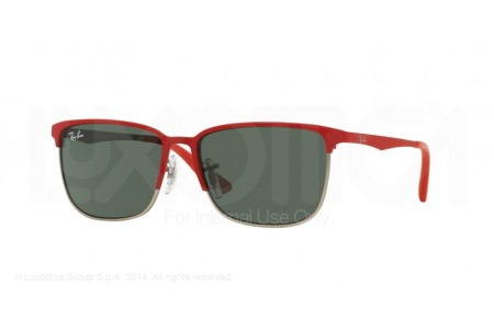 Ray-Ban Junior  0RJ9535S 245/71 TOP MATTE RED ON SILVER