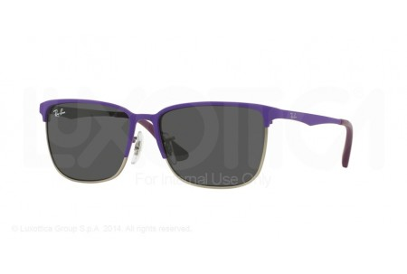 Ray-Ban Junior  0RJ9535S 246/87 TOP MATTE VIOLET ON SILVER