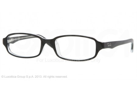 Ray-Ban Junior 0RY1521 3529 TOP BLACK ON TRANSPARENT