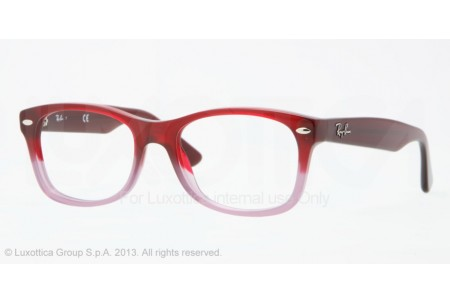 Ray-Ban Junior 0RY1528 3583 OPAL RED FADED OPAL VIOLET