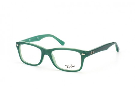 Ray-Ban Junior 0RY1531 3593 TOP GREEN ON OPALIN GREEN
