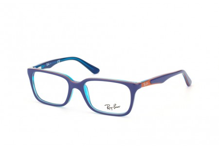 Ray-Ban Junior 0RY1532 3587 TOP BLUE ON AZURE TRANSP