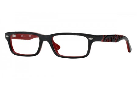 Ray-Ban Junior 0RY1535 3573 TOP BLACK ON RED