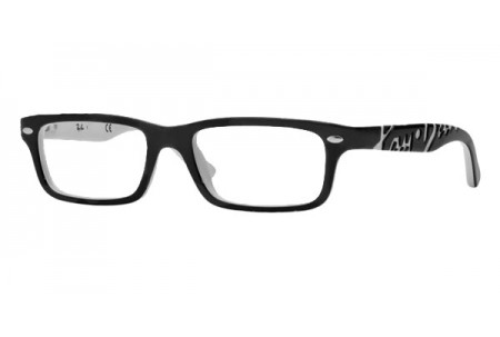 Ray-Ban Junior 0RY1535 3579 TOP BLACK ON WHITE