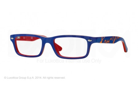 Ray-Ban Junior 0RY1535 3601 TOP BLUE ON RED
