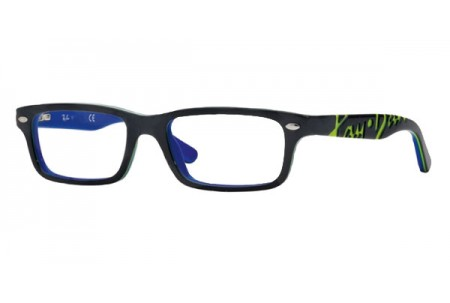 Ray-Ban Junior 0RY1535 3600 TOP DARK GREY ON BLUE