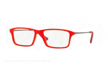 Ray-Ban Junior 0RY1541 3617 RED FLUO TRASPARENT RUBBER
