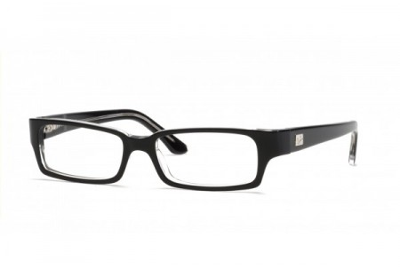 Ray-Ban 0RX5092 2034 TOP BLACK ON TRANSPARENT