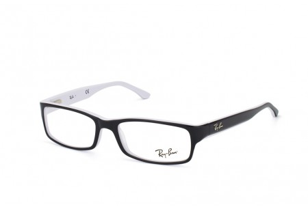 Ray-Ban 0RX5114 2097 BLACK/WHITE