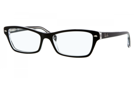 Ray-Ban 0RX5114 2034 TOP BLACK ON TRANSPARENT