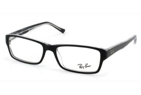 Ray-Ban 0RX5169 2383 TOP HAVANA ON GREEN TRANSP.