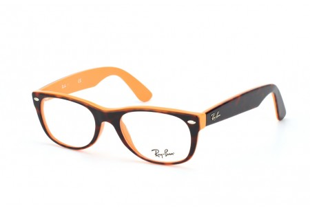 Ray-Ban 0RX5184 5160 TOP DARK HAVANA ON ORANGE