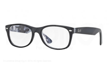 Ray-Ban 0RX5184 5405 TOP MAT BLACK ON TEX CAMUFLAGE