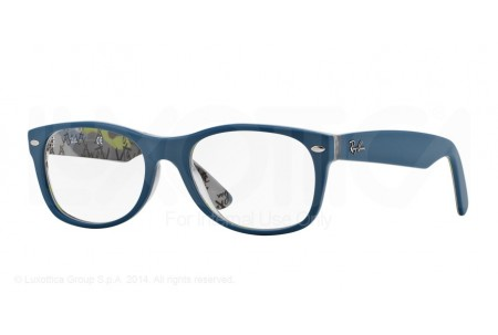 Ray-Ban 0RX5184 5407 TOP MAT BLUE ON TEX CAMUFLAGE